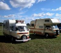 VW T2b Campers type2 Karmann (Ghia) Mobil Safari  (Brazil & Germany)