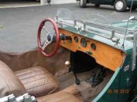 Fraser Nash kit car dashboard
