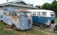 1957 Dove Blue Rust Bucket
