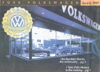 York VW Dealership circa 1962
