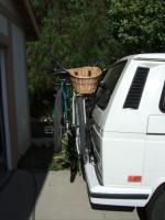 Hollywood bike rack on 89 Vanagon