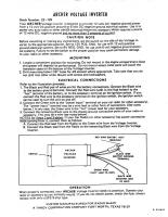 Radio Shack Inverter instructions