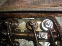valve spring rubbage