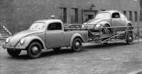 Split truck tow rig