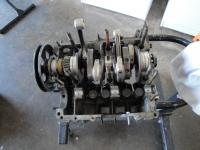 Crank gear assembled