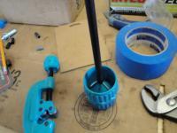 Pushrod deburring tool