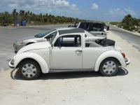 Mexican convertible or half top