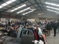 visitors and merchandise