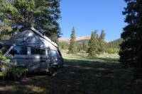 Vanagon Park County Colorado