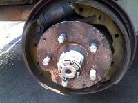 Brake Shoes breaking..