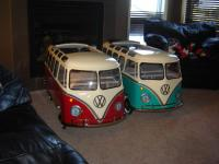 2 more Deluxe pedal cars
