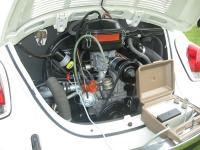 cosmetically and accurately restored 1972 engine