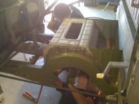 Barndoor repair