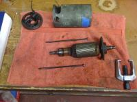 '64 6 volt generator teardown