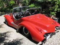 Mystery Boat-Tail Speedster Kit Car/Buggy