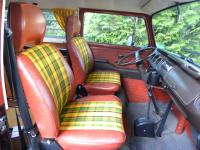"Custom ""Champagne Edition III"" camper upholstery"