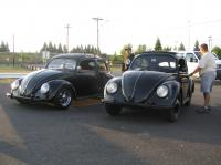 Some splits at the Rose City Bug In 2009