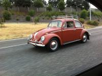 1960 deluxe enroute to rose city bug-in