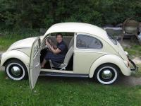 Latest 65 Beetle restoration project - Wife