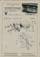 Old radio stuff vw 58-