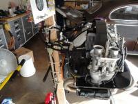 Roll around engine stand/starter