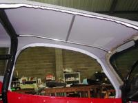 Soft top supports-bows