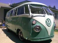 62 Turkis/Blue White Standard Microbus