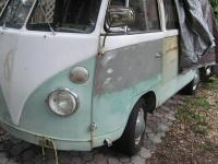 VW Bus side and nose rework