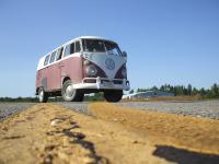 Bus at the air field