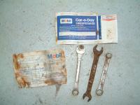 tools found in the bus