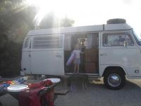 1974 VW Westy in the Florida Keys
