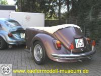 VW 1302s Weltmeister with trailer