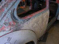 72-Bug Paint stripping
