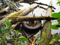 Anyone loose a bus wheel?