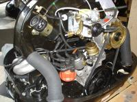 Pics of that weird Bocar set up on the new engine