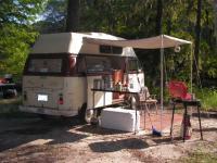 camping on the santa fe river