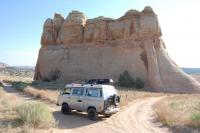 Vanagon at Castle Rocks