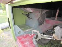 pic of replaced rear pillar and tray.