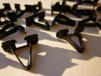Ghia side trim clip restoration