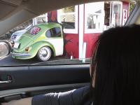 Half a VW in Seattle.