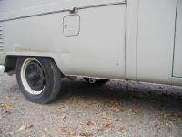 Mfr. date Dec. 1960 Crew Cab, worst part of the truck