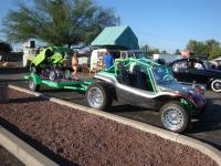 Dune Buggy with trailer and kit car