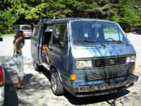 vanagon at whistler