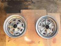 (Finally) working on the rear wheels