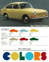 1973 Type 3 Basic Compact
