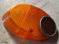 Rare bug brake light lens w/reflector