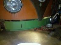 66 Westy Metal Repair