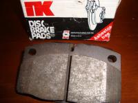CSP disc brake front pads for bus