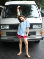 Kids and buses