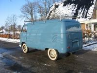 single seat swivel panelvan 1960